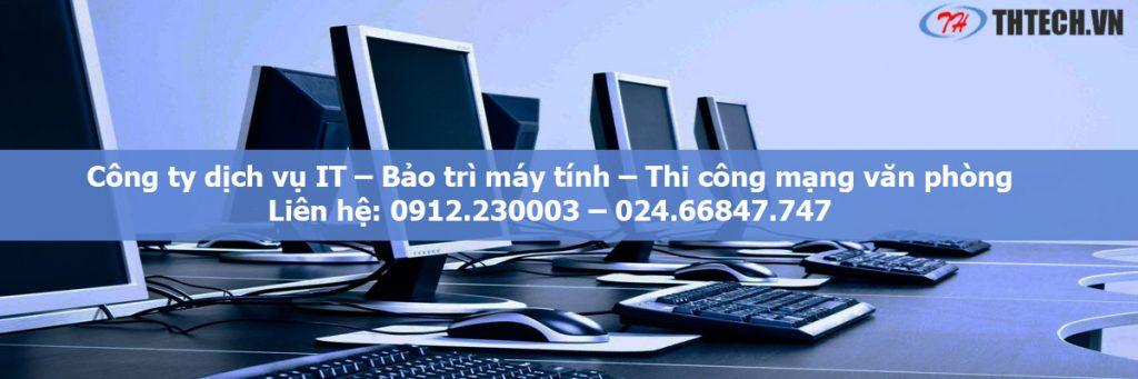 công ty dịch vụ bảo trì máy tính hà nội chuyên nghiệp 2019