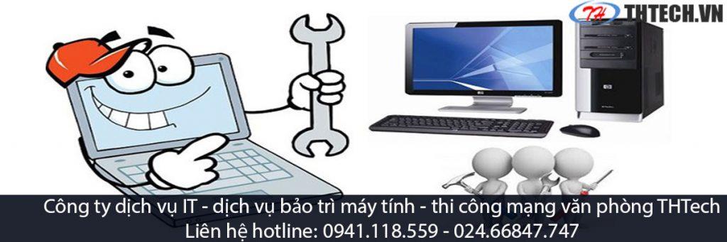dịch vụ bảo trì máy tính công ty thtech