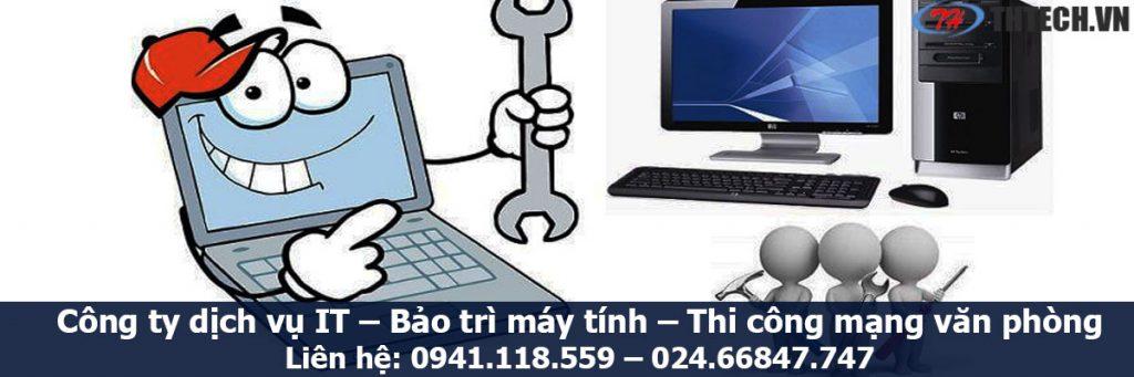 công ty bảo trì máy tính hà nội chuyên nghiệp