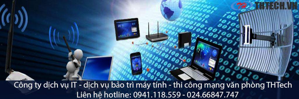 công ty thtech là đơn vị chuyên nghiệp trong dịch vụ thi công mạng lan