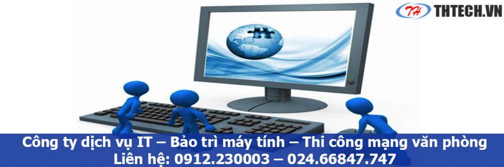 dịch vụ bảo trì máy tính chuyên nghiệp công ty thtech