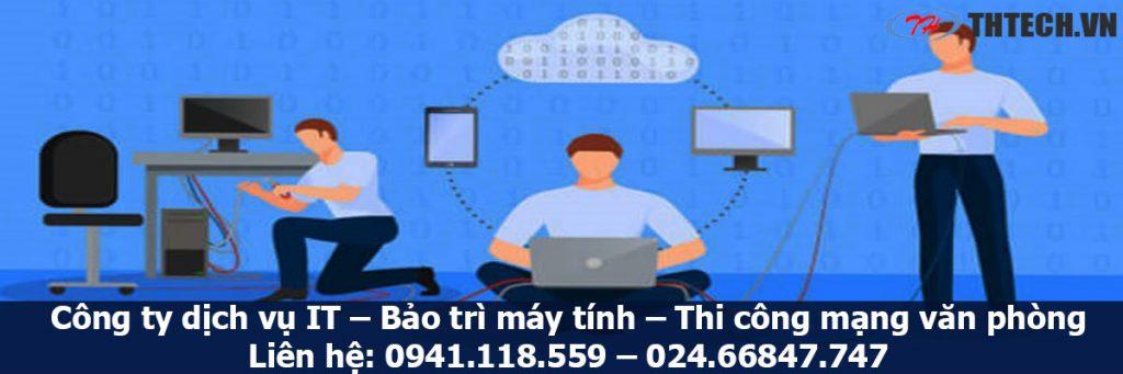 công ty thtech cung cấp dịch vụ it support chuyên nghiệp