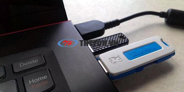 Kiểm tra nguồn điện cổng USB