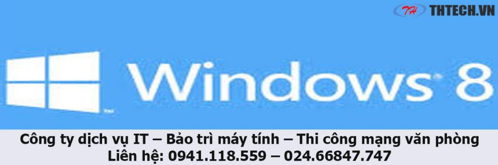 công ty thtech hướng dẫn bạn đọc cách nâng cấp windows 7 lên windows 8