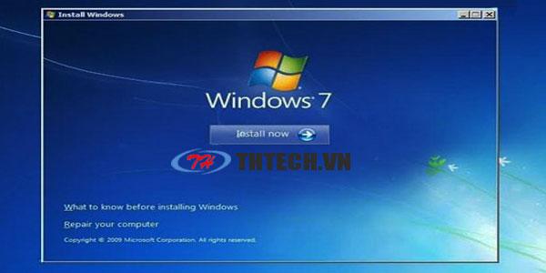 Nâng cấp Windows XP lên Windows 7 giữ nguyên dữ liệu