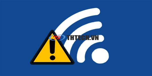 Khắc phục mạng Wifi bị dấu chấm than