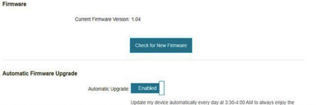 Cập nhật firmware